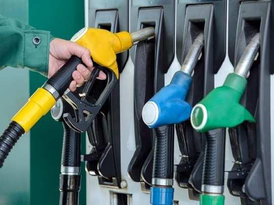 petrol diesel rate in hyd