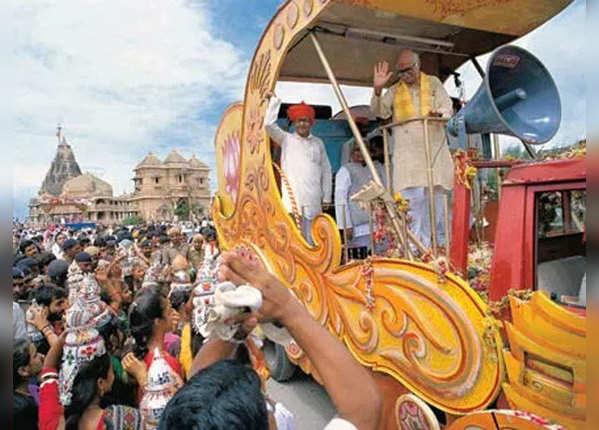 आडवाणी की सोमनाथ से अयोध्या तक रथ यात्रा