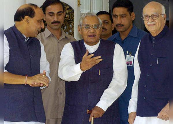 1999 वाजपेयी के नेतृत्व में NDA सरकार
