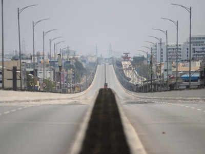 बेंगलुरु के एक बेहद व्यस्त रहने वाले फ्लाईओवर का नजारा