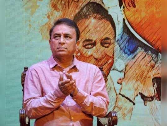 Kolkata: Cricket legend Sunil Gavaskar during a felicitation ceremony for his co...