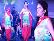 हरियाणा की देसी क्वीन सपना चौधरी ने 'छोरा जाट सा' पर किया मस्त डांस,वीडियो ने उड़ाया गर्दा