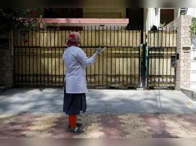 दिल्ली में चल रहा डोर-टू-डोर वेरिफिकेशन।
