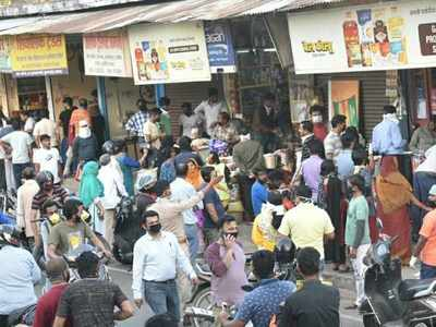 People broke up in Daliganj market in Lucknow for the same