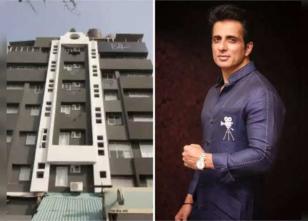 सोनू सूद ने कोरोना फाइटर्स के लिए ओपन किया अपना 6 मंजिला होटल