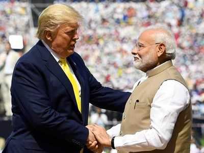 अहमदाबाद में पीएम मोदी और राष्ट्रपति ट्रंप (फाइल फोटो)