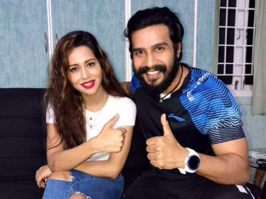 Vishnu Vishal and Raiza