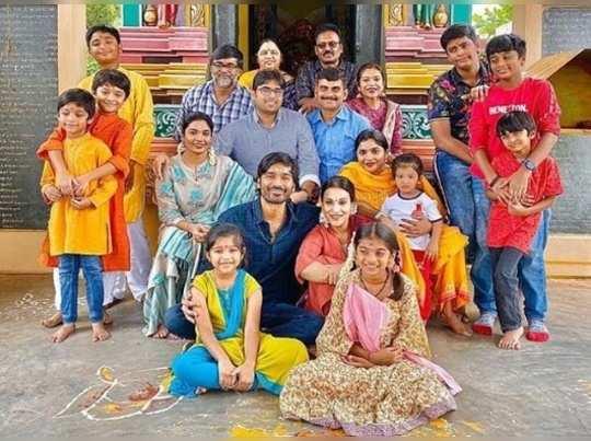 dhanush family