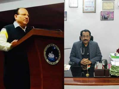 मनोचिकित्सक डॉ. विनय कुमार और फिजिशियन डॉक्टर दिवाकर तेजस्वी।