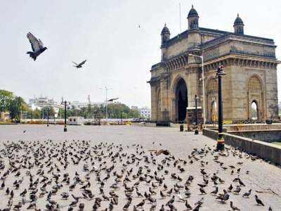 मुंबई की में लॉकडाउन के दौरान पसरा है सन्नाटा