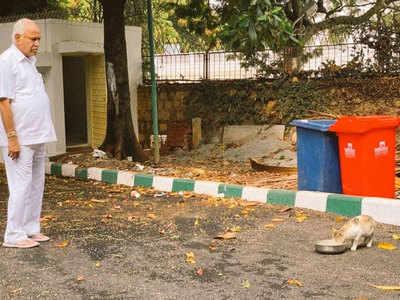बीएस येदियुरप्पा ने पोस्ट की तस्वीर