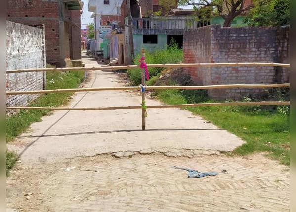 गांव की सीमाएं हुई सील