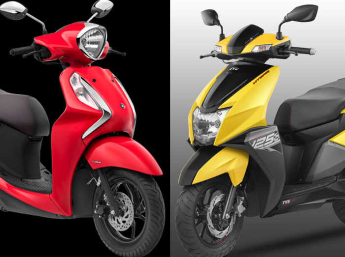 5 best scooters under 75000 rupee in india