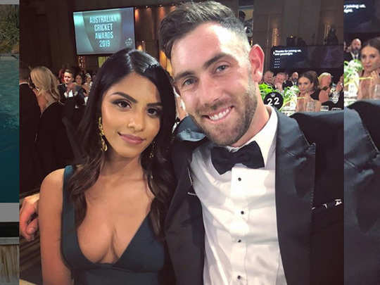 fiancee vini raman shared photo with glenn maxwell on instagram captioned it pre isolation picture