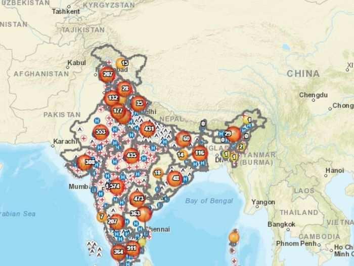 Coronavirus से जंग में सरकार की मदद कर रही है GIS टेक्नॉलजी