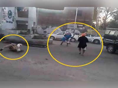 पंजाब: जिस हाथ को हमलावरों ने काटा, उसे लेकर स्कूटी पर बैठे ASI हरजीत और कहा- अस्पताल ले चलो