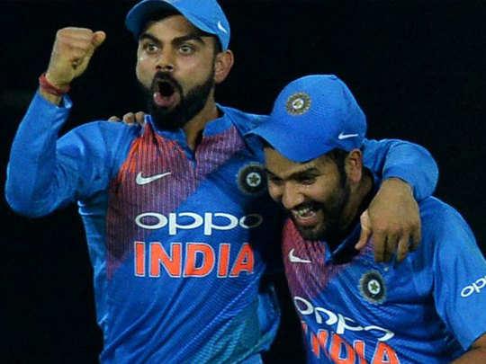 virat kohli and rohit sharma are among top five batsmen with most international runs since january 2017