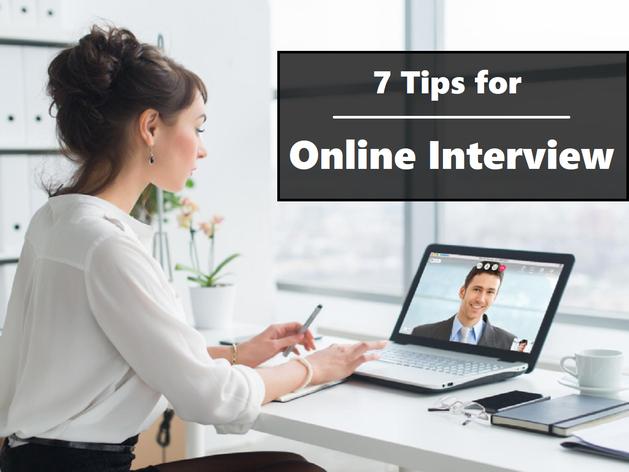 Online Interview: इन 7 बातों का रखें खास ख्याल