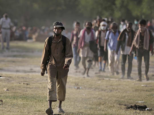 after lockdown phase 2 most of the migrant labour wants to go back his hometown