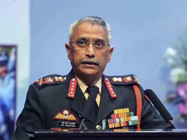 सेना प्रमुख मनोज मुकुंद नरवणे