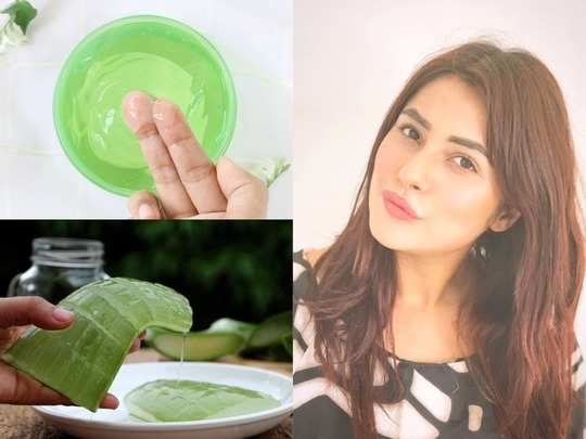 how to do aloe vera facial at home for fair and glowing skin in hindi