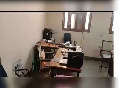 अवलर के सरकारी दफ्तर में लॉकडाउन के दौरान चोरी।