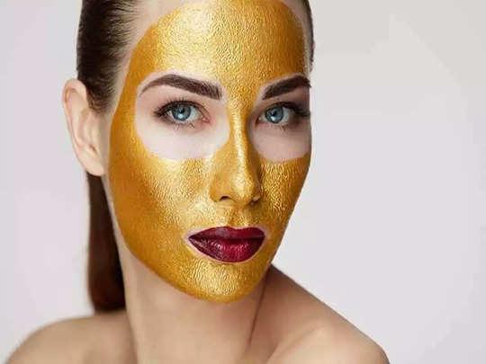 how to do gold facial at home in hindi