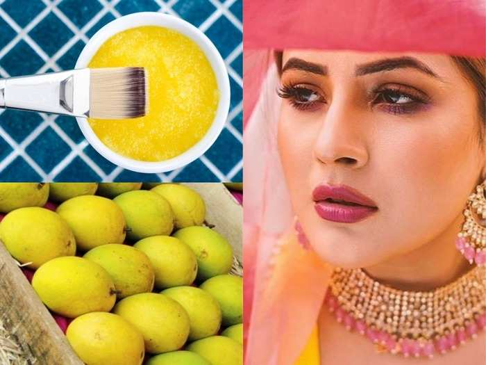 homemade mango face packs for healthy glowing skin