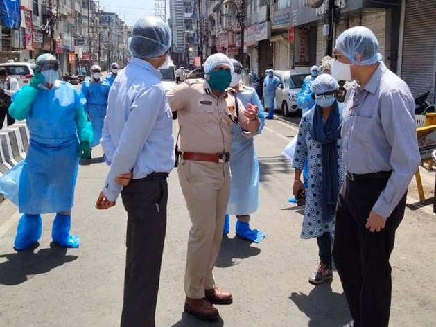 देखिए, इंदौर में क्या-क्या कर रही सेंट्रल COVID-19 की टीम