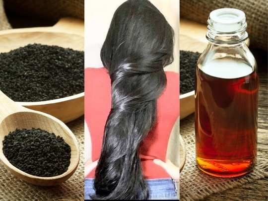 how to use homemade kalonji oil black seed for hair growth thin and grey hair