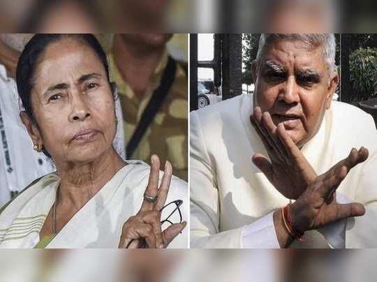mamata and dhankhar