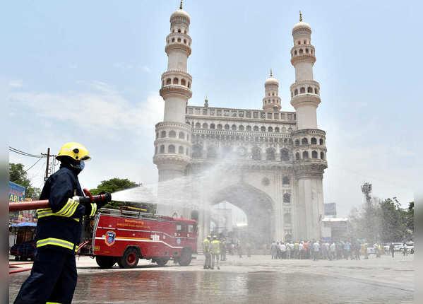 हैदराबाद बना हॉटस्पॉट