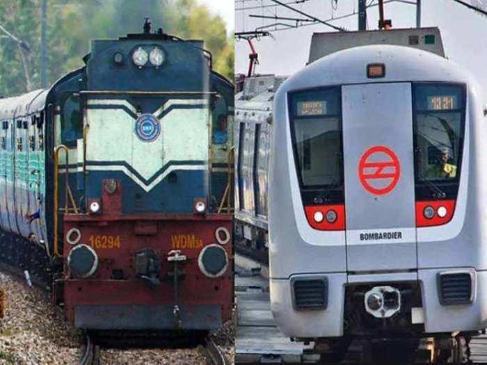 delhi metro and indian railway resumption plan after coronavirus lockdown