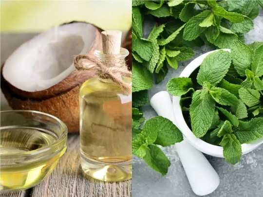 peppermint essential oil benefits for hair in hindi