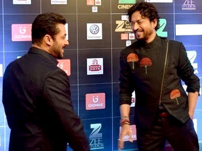 सलमान खान और इरफान खान