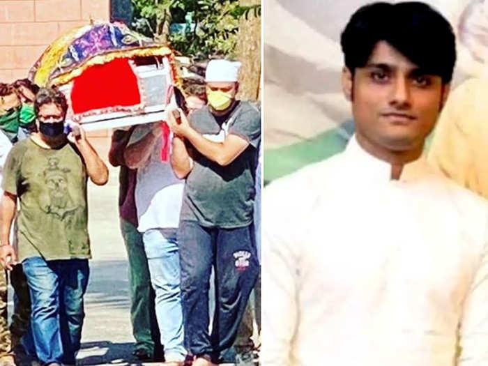 संदीप सिंह ने दिया इरफान खान को कंधा