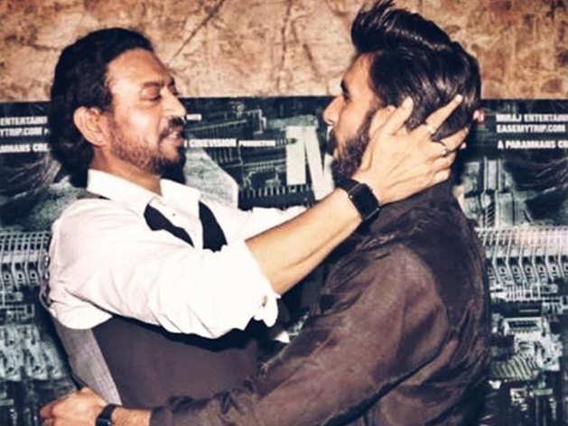 इरफान खान और रणवीर सिंह