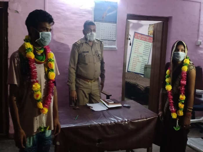 kanpur police convinced families of couple and got them married in police station