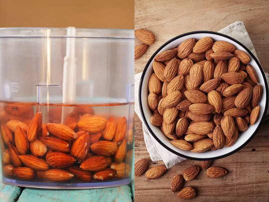 benefits of raw and soaked almonds during pregnancy in hindi