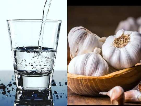 eating-raw-garlic-with-water