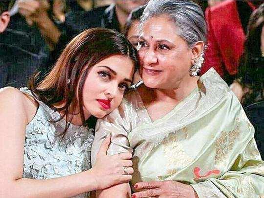 aishwarya rai bachchan and jaya bachchan saas bahu relationship