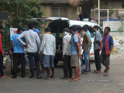 यूपी के मजदूर की मुंबई में मौत
