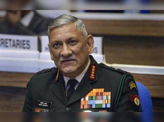Chief Of Defence Staff, 3 Armed Services Chiefs General Bipin Rawat To Brief Press At 6 pm