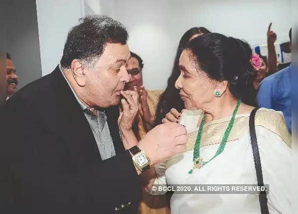Rishi Kapoor was a fan of Asha Bhosle's cooking