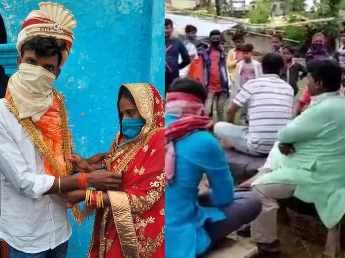 love story in lockdown couple meet secretly villagers caught then got married begusarai bihar