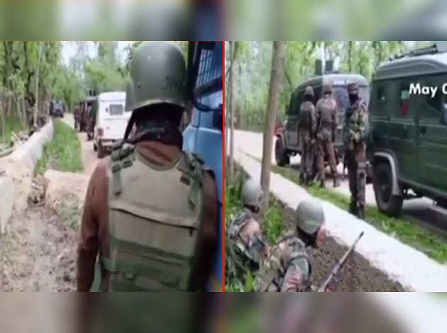 हंदवाड़ा एनकाउंटर: सेना के 2 अधिकारी समेत पांच सुरक्षाकर्मी हुए शहीद, 2 आतंकी मारे गए