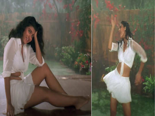 manish malhotra mistake was the real reason why kajol had to wear short white skirt in song mere khwabon mein of ddlj