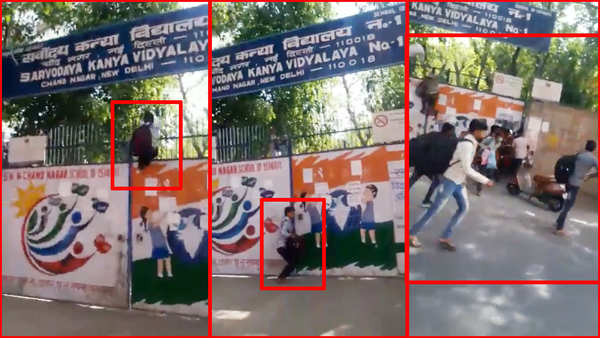 covid 19 migrant workers run away from quarantine centre in delhi video goes viral