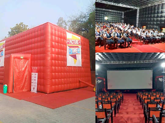 picture time digiplex know about the portable and mobile movie theatre