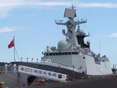 चीन ने मिसाइलों से लैस पोत हिंद महासागर में भेजा